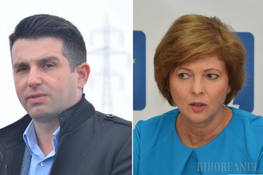 Liberalii Adrian Foghiș și Florica Cherecheș, numiți la Ministerul Transporturilor și respectiv al Muncii