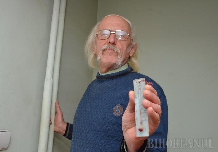 Gerul Bobotezei. O avarie din CET a adus frigul în casele orădenilor