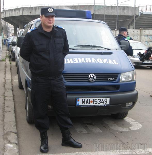 Sebastian Hava, subofiţerul Inspectoratului Judeţean de Jandarmi Bihor care a reuşit să oprească tâlharul