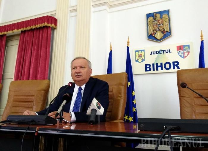 Ioan Mang spune că CJ Bihor ar putea prelua echipa de fotbal Luceafărul şi vrea stadionul municipal de la Primărie