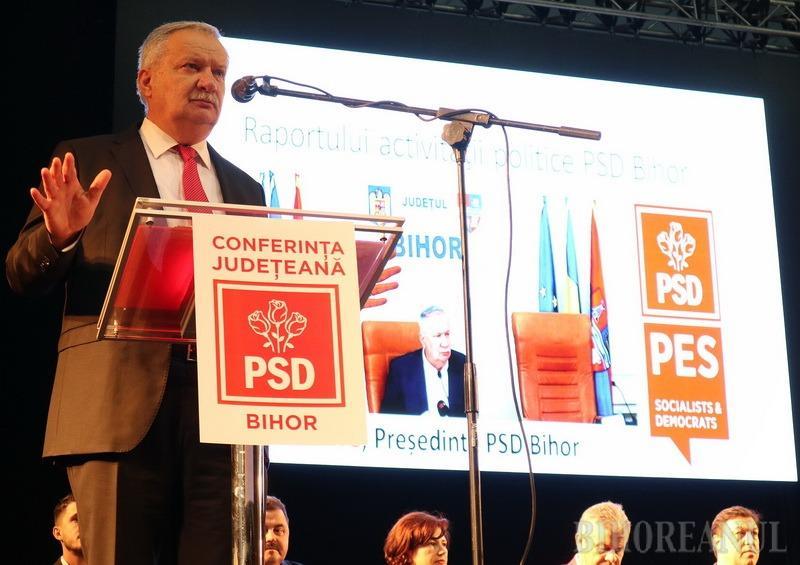 Ioan Mang va fi candidatul PSD Bihor la Consiliul Judeţean. Propunerea pentru Primăria Oradea, încă un mister
