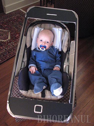iPhone, pe limba bebeluşilor