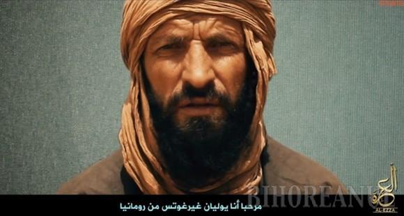 Al-Qaida a difuzat o nouă înregistrare cu românul Iulian Gherghuţ, răpit de doi ani de jihadiştii din Mali