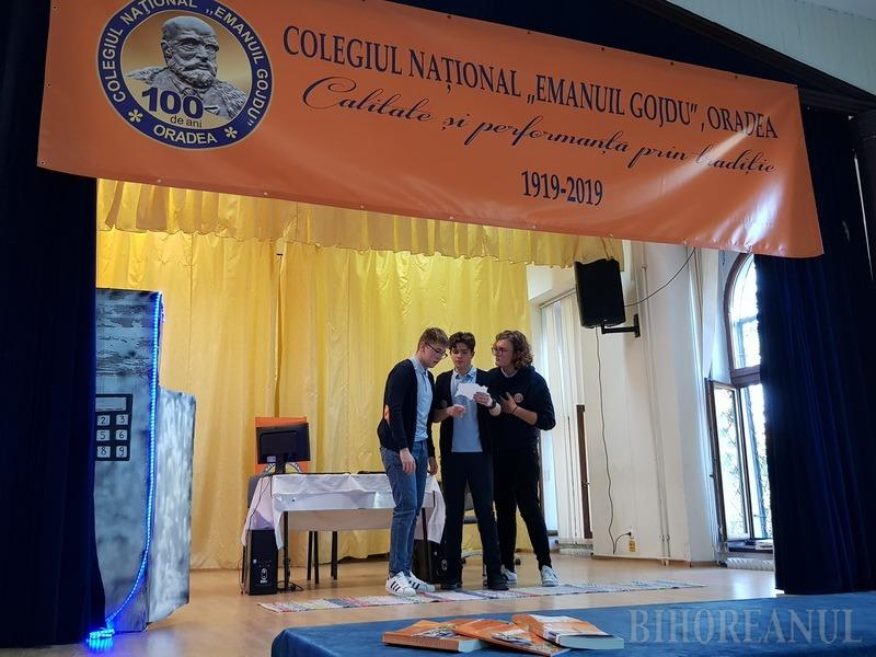 Centenarul Colegiului Gojdu, sărbătorit cu teatru şi lansări de carte. Între volume se numără şi 100 Gojdişti de prestigiu (FOTO)