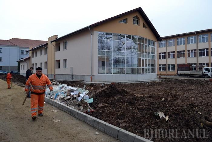 Campusul şcolar Partenie Cosma este finalizat în proporţie de peste 90% (FOTO)