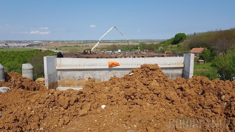 Drumul rapid a fost asfaltat pe toată lungimea sa, până la viaductul peste Valea Frumoasă (FOTO / VIDEO)