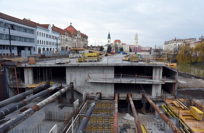 Gratuit timp de 3 luni: Parcarea subterană din strada Independenţei va fi dată în folosinţă în mai