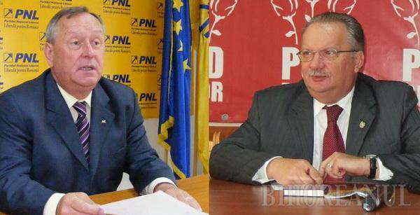 Liderii PSD şi PNL Bihor agreează un acord între cele două partide