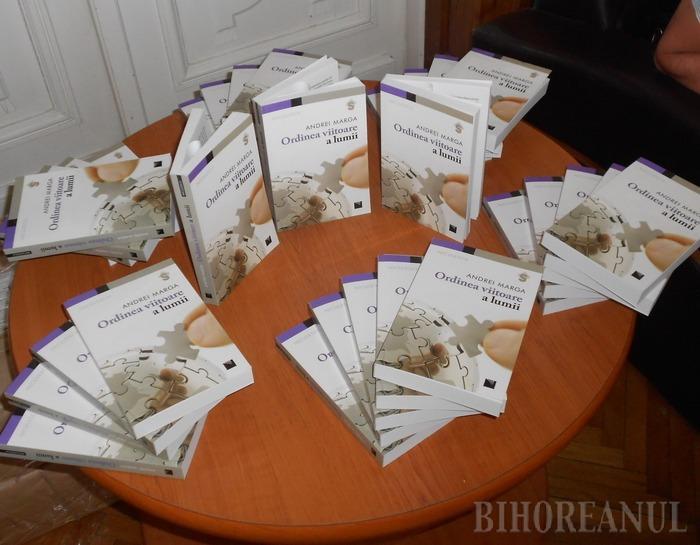 Ordinea mondială, încotro? Andrei Marga și-a lansat cea mai recentă carte la Oradea (FOTO)