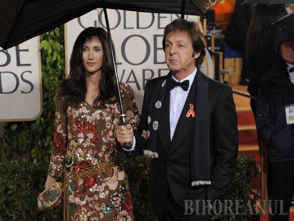 Paul McCartney, căsătorit a treia oară