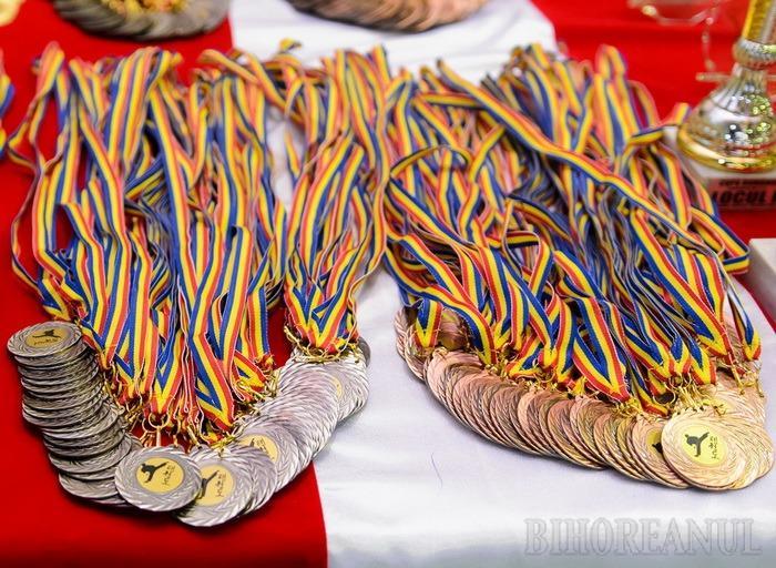 Mai puţine medalii în 2015 pentru sportivii de la CSS LPS Bihorul faţă de anul precedent