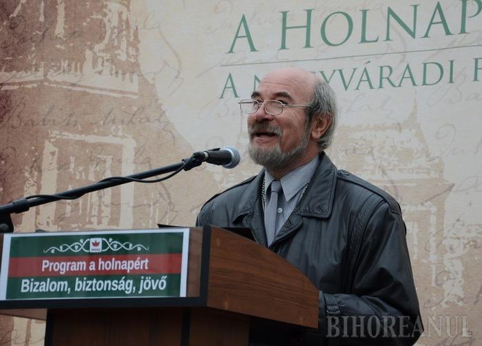 Tradiţia continuă: UDMR-istul Meleg Vilmos, de profesie actor, va conduce Filarmonica orădeană
