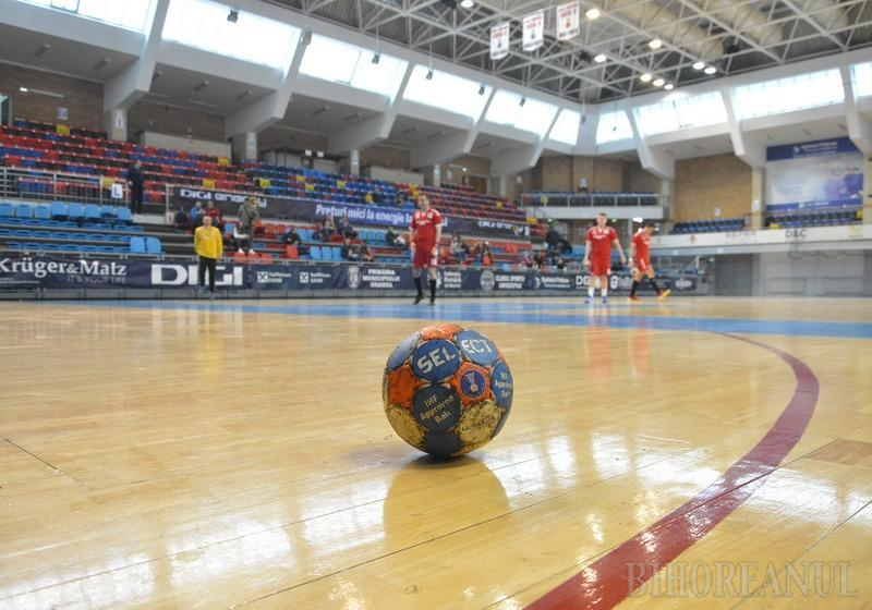 Handbaliştii de la CSM Oradea speră să obţină sâmbătă o nouă victorie în Divizia A