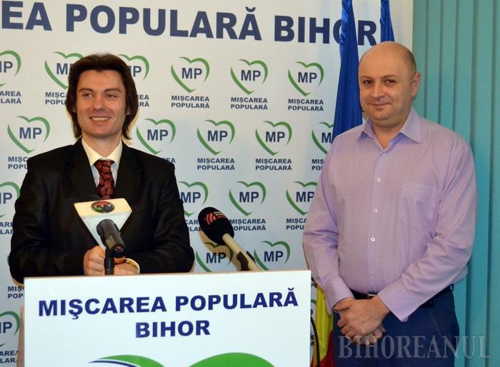 Râde ciob de oală spartă: Mişcarea Populară spune că propunerile PSD la Primăria Oradea sunt o glumă