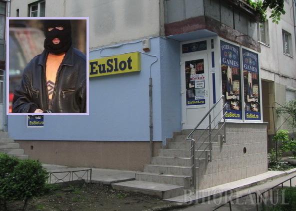 Jaf la o sală de jocuri din Ioşia (VIDEO)