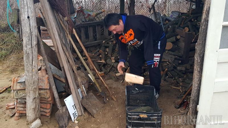 Mâna destinului: Împuşcat şi rămas invalid la Revoluţie, bihoreanul Nyéki Iosif trăieşte în sărăcie lucie într-un cătun izolat (FOTO / VIDEO)