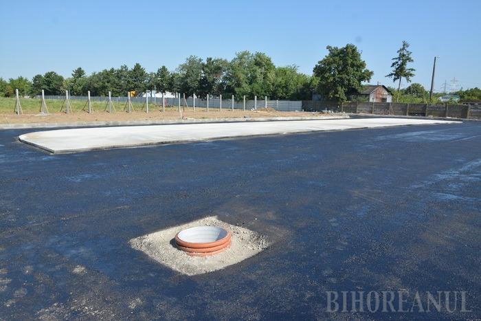 În curând, aruncaţi aici! Platforma pentru deşeuri voluminoase, aproape gata (FOTO)