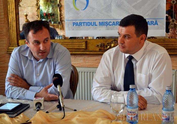 Cristian Puşcaş, numit preşedintele PMP Bihor. Membrii de partid au făcut o petiţie împotriva lui (VIDEO)