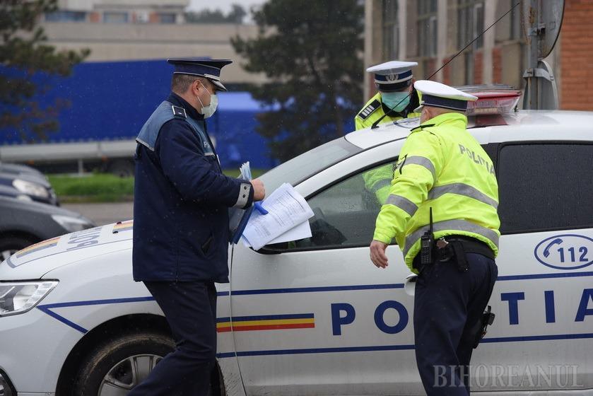 82 de amenzi au fost aplicate în Bihor pentru cei care au ieşit din casă nejustificat. Aproape 3.700 de persoane autoizolate