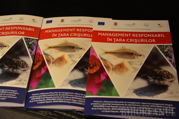 Proiecte finalizate: Aqua Crisius a investit 3,6 milioane de lei pentru mai buna conservare a şapte arii protejate din Bihor (FOTO)