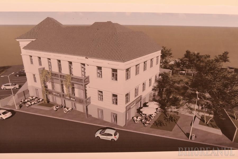 Investiţie de 18,6 milioane lei în amenajarea unui incubator de afaceri pentru Oradea. Vezi cum va arăta! (FOTO)