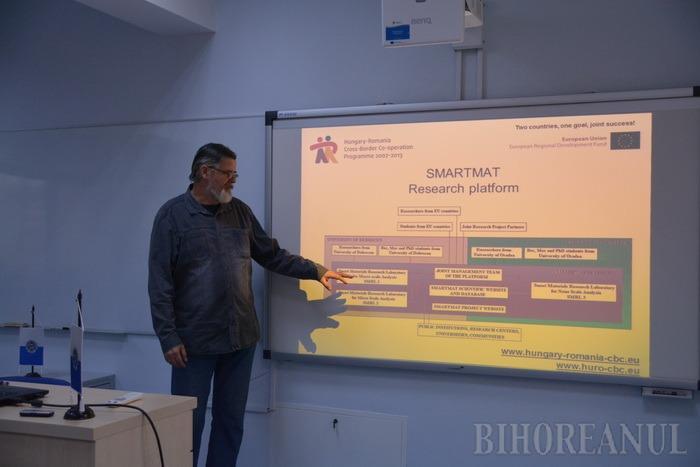 Universitarii orădeni fac cercetări în nanotehnologie, cu aparate de ultimă oră (FOTO)