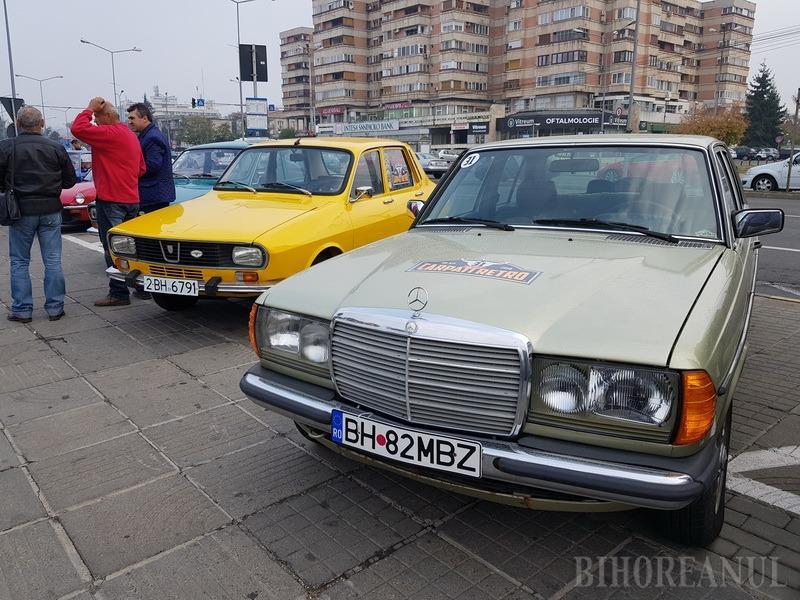 Retroparada toamnei: Bătrânele doamne expuse în centrul Oradiei (FOTO)