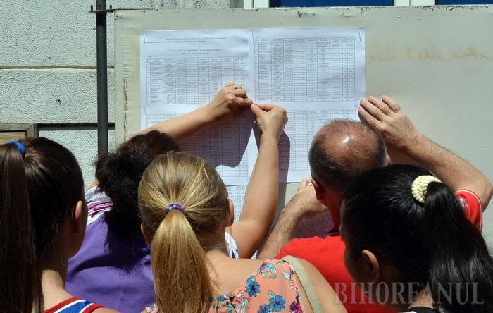 Bacalaureat: 69% dintre elevii bihoreni au promovat examenul, opt au media 10!