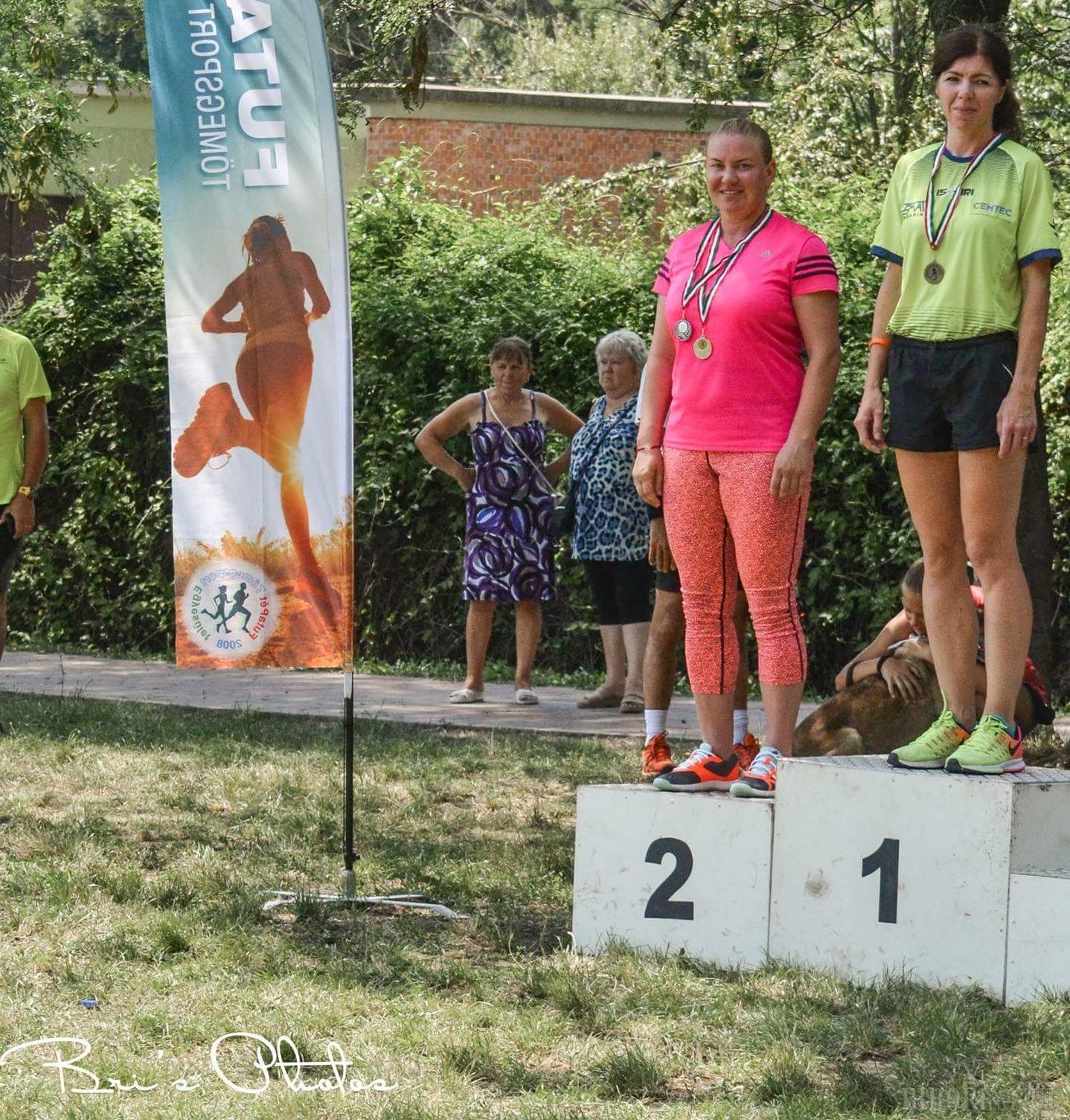 Simona Kadas a obţinut două clasări pe podium la Crosul Balaton din Ungaria