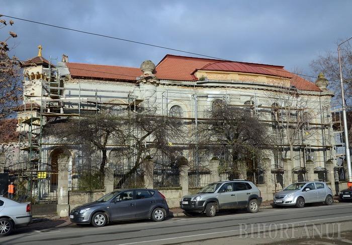 Ba, e al meu!. Bolojan şi Pásztor se duelează pe viitorul Muzeu al Evreilor din Oradea