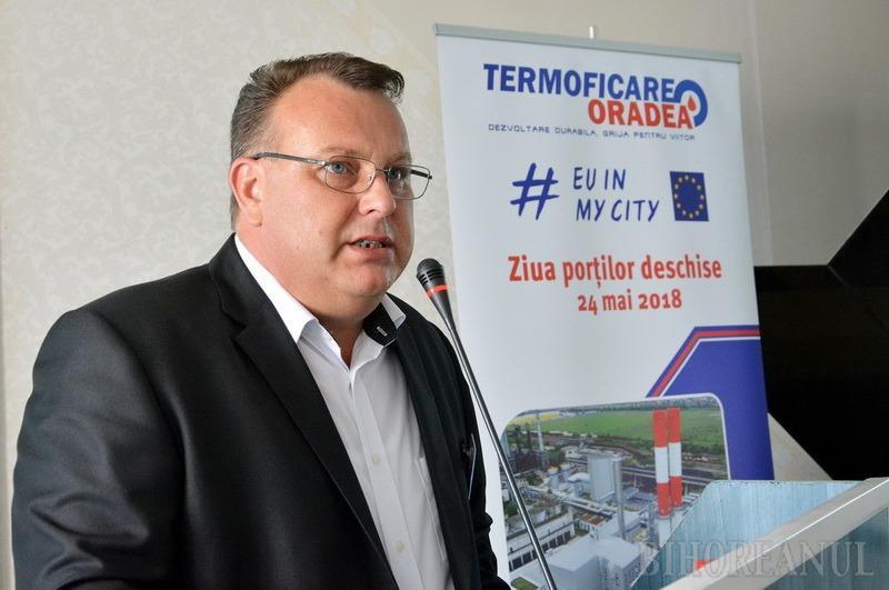 """USR Bihor cere suspendarea """"de îndată"""" a managerului Termoficare, Stănel Necula, condamnat pentru corupţie"""