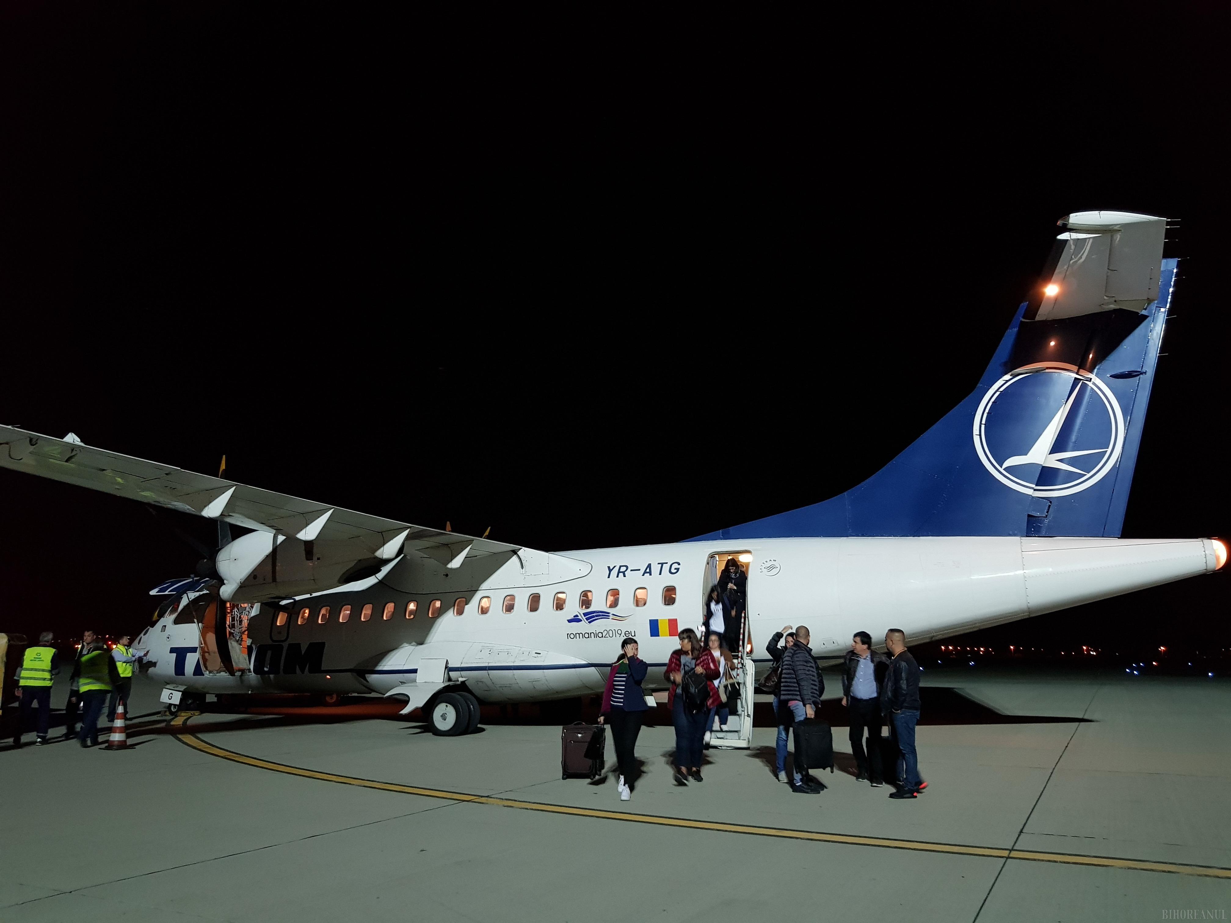 Aeroportul Oradea, tot mai jos: A pierdut 110.000 de pasageri faţă de anul trecut!