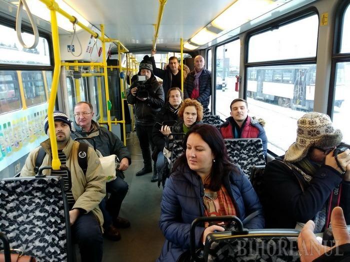 Tramvaiele second-hand Tatra din Berlin, prezentate publicului. Viceprimarul Mircea Mălan: Vrem să mai cumpărăm 20 (FOTO/VIDEO)
