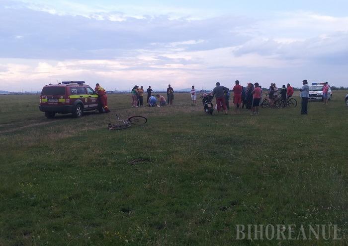 Cumplit: Un adolescent a murit trăsnit pe un câmp, la Sântandrei
