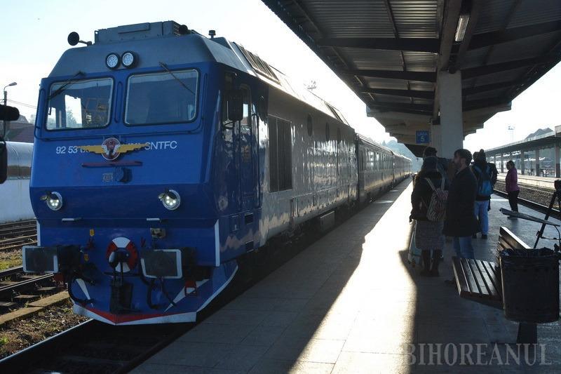 Primul tren Cluj - Oradea – Viena a plecat full. Biletul cel mai ieftin costă 133 lei (FOTO/VIDEO)