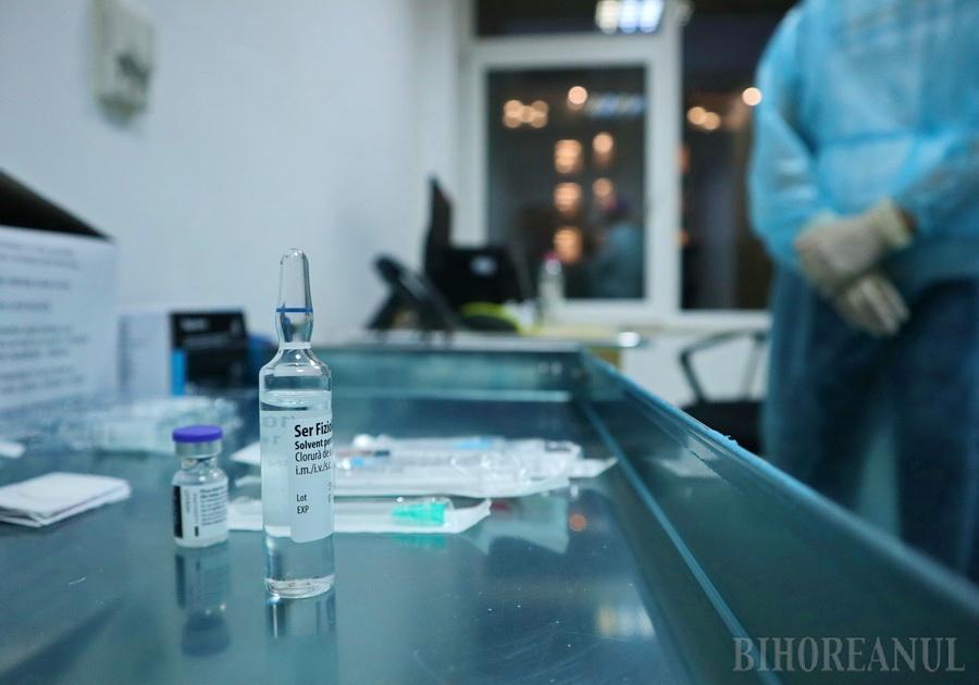 Start cu stângul la vaccinarea anti Covid în Bihor: vor fi doar 7 cabinete, în fiecare se vor vaccina zilnic maximum 60 persoane, începând de vineri