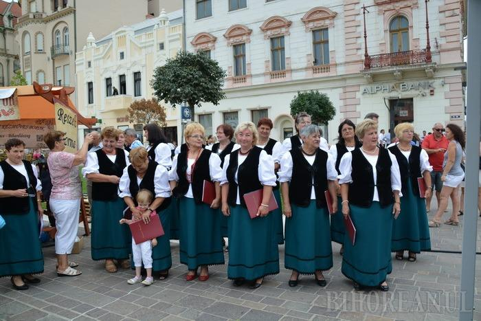 Valea Ierului, la Oradea: Prima zi a Carnavalului Florilor a adus meşteri şi comercianţi unguri în centrul oraşului (FOTO/VIDEO)