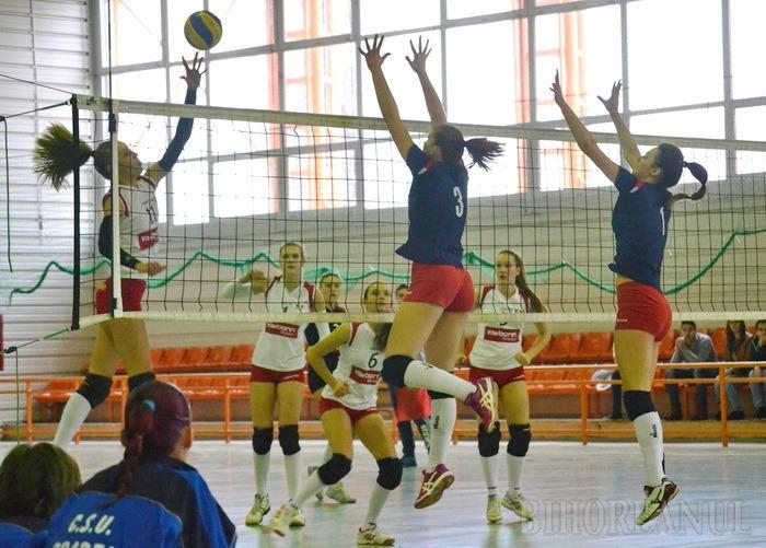 Voleibalistele de la CSU Oradea au cedat cu 1-3 jocul cu Agroland Timişoara