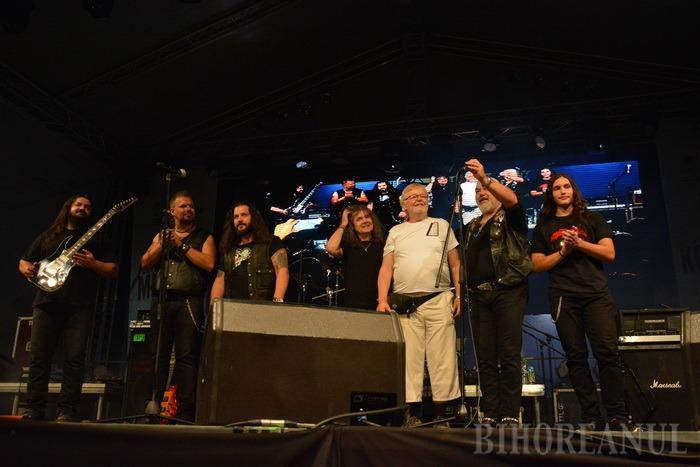 Liderul Phoenix, Nicu Covaci, la Oradea: Avem în trupă un orădean! (FOTO / VIDEO)