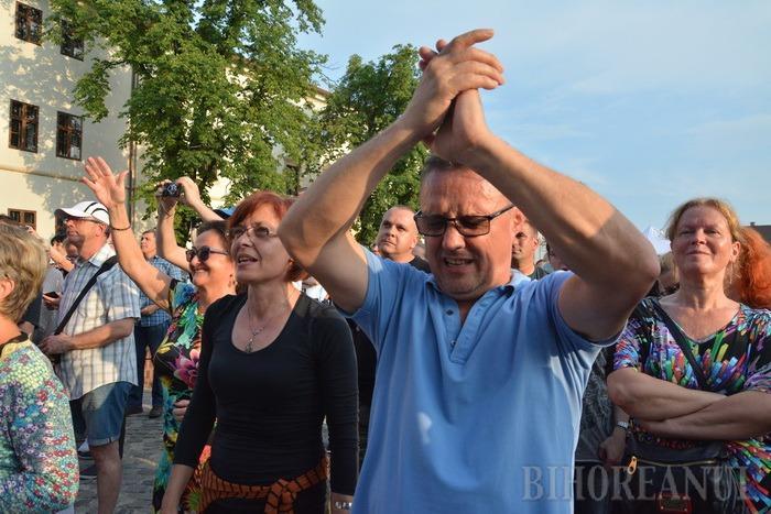 Plin de lume! Legendara trupă ungară Omega a făcut show de zile mari la Oradea (FOTO / VIDEO)