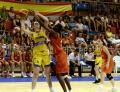 Înfrângere clară în faţa Spaniei pentru echipa României la CE de baschet feminin de la Oradea (FOTO)