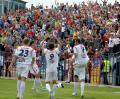 Dispută aprigă: FC Bihor a câştigat cu 2-1 în faţa oltenilor de la ALRO (FOTO)
