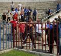 Jandarmii şi bodyguarzii s-au pregătit pentru huligani (FOTO)