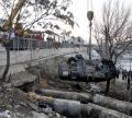 Oraşul face curăţenie după poliţistul vitezoman (FOTO)