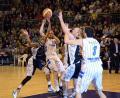 """Dezamăgire pentru baschetbaliştii orădeni, în meciul cu """"U"""" Mobitelco (FOTO)"""