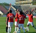 FC Bihor nu a reuşit să învingă UTA, dar rămâne lider (FOTO)