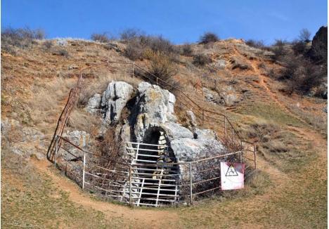 PERICULOS. Peştera de la Betfia este închisă turiştilor, deoarece accesul este greoi, iar în trecut a fost chiar locul unor tragedii. Primăria Sânmartin caută soluţii pentru a permite turiştilor să coboare în aven, în siguranţă şi fără să deranjeze liliecii