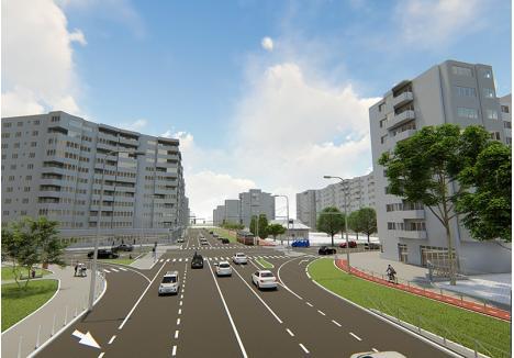 VĂ PLACE? Unul dintre proiectele Primăriei prevede dispariţia tuturor locurilor de parcare de pe strada Nufărului. În locul lor, vor fi amenajate trotuare mai largi şi piste pentru biciclişti