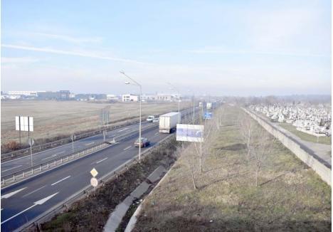 FĂRĂ PERDEA. Aerul din Oradea ar fi mai puţin poluat dacă în jurul oraşului ar exista o perdea verde, care să absoarbă praful şi noxele maşinilor. Din păcate, o asemenea protecţie există doar în zona Cimitirului Municipal