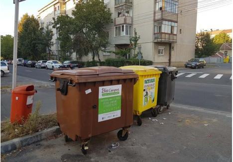 COMPOST DE ORADEA. Orădenii trebuie să arunce resturile alimentare şi vegetale în recipientele de culoare maro puse la dispoziţie de operatorul RER Vest. Odată colectate, aceste deşeuri ajung la depozitul ecologic administrat de Eco Bihor, unde sunt transformate în îngrăşământ organic